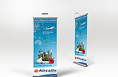Aircalin - Pop Up Banner Stand