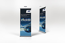 LOT - Pop Up Banner Stand