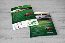 Europcar - Double Sided Flyer